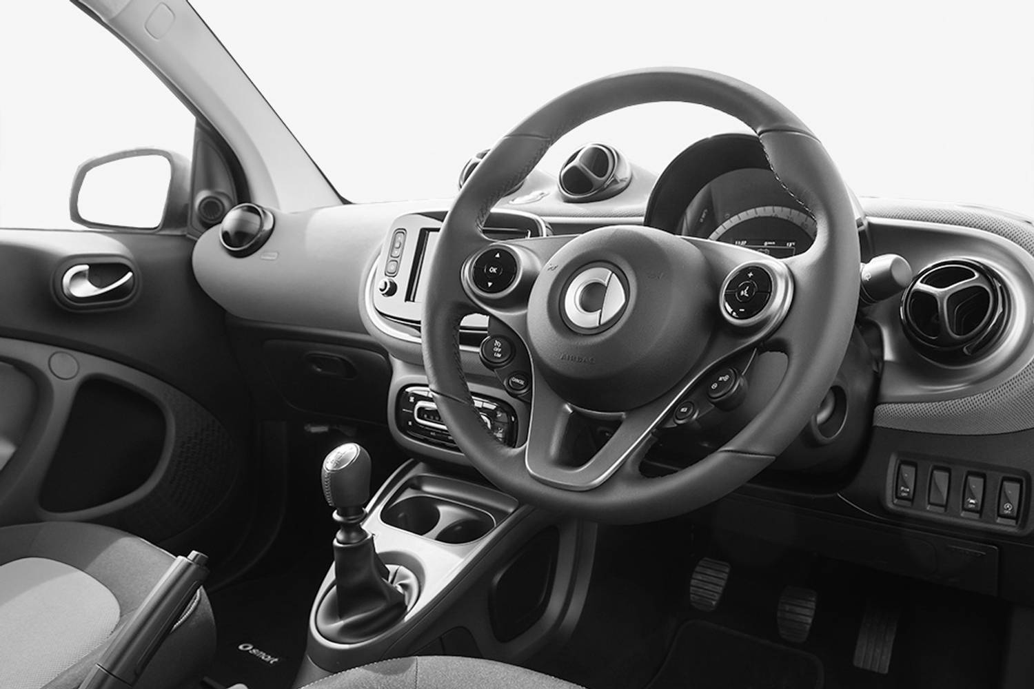 Smart Fortwo Coupe 2dr interior