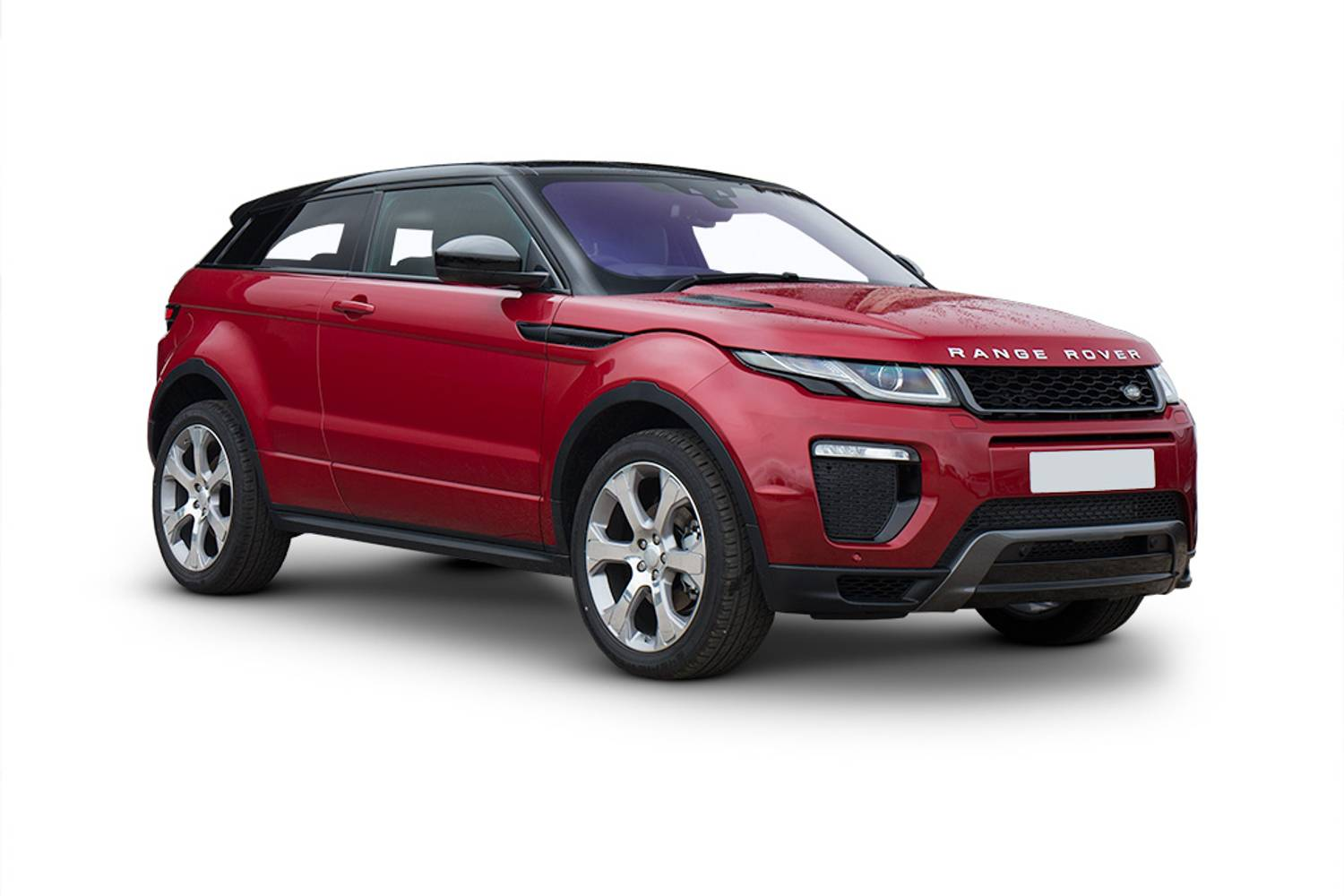 new land rover evoque. range rover evoque coupe 2.0 3dr front three quarter new land