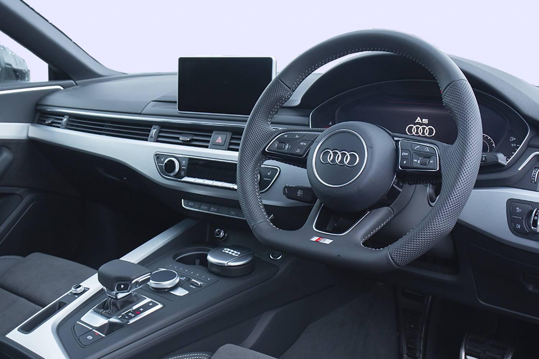 Audi A5 Coupe Interior