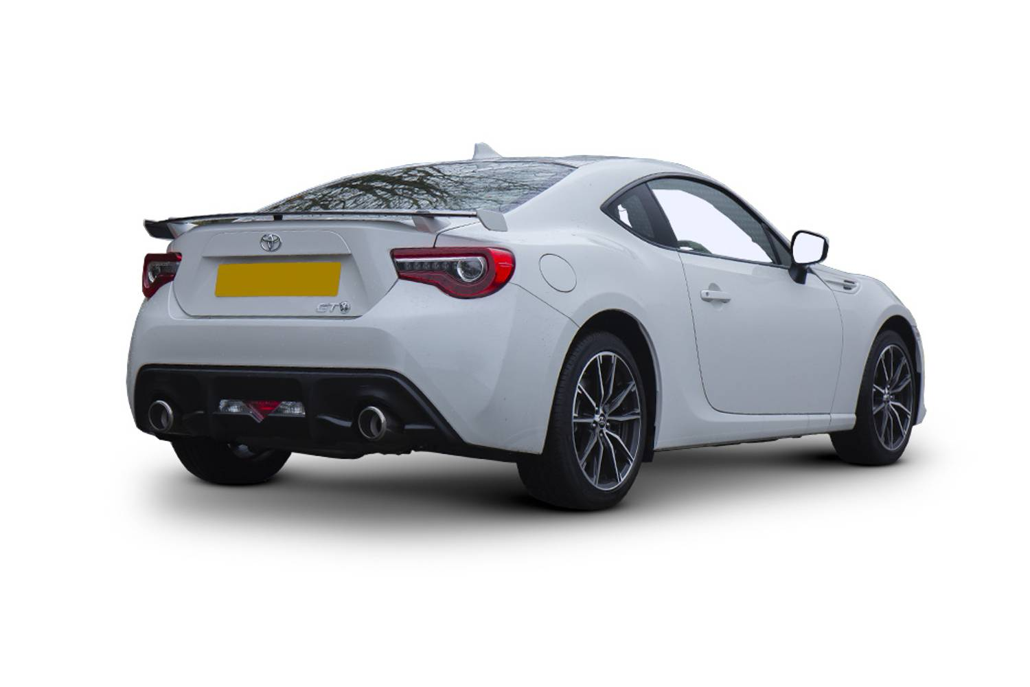 Toyota GT86 Coupe 2.0 D-4S 2dr Rear Three Quarter
