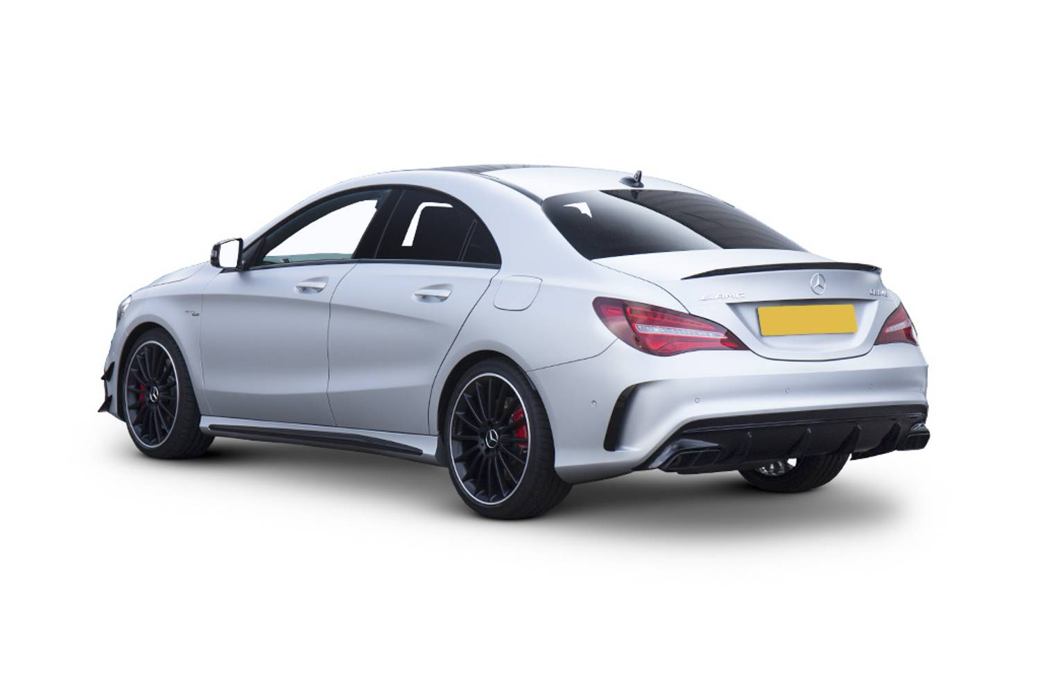 new mercedes benz cla class amg coupe special edition cla 45 4matic yellow night edition 4 door. Black Bedroom Furniture Sets. Home Design Ideas