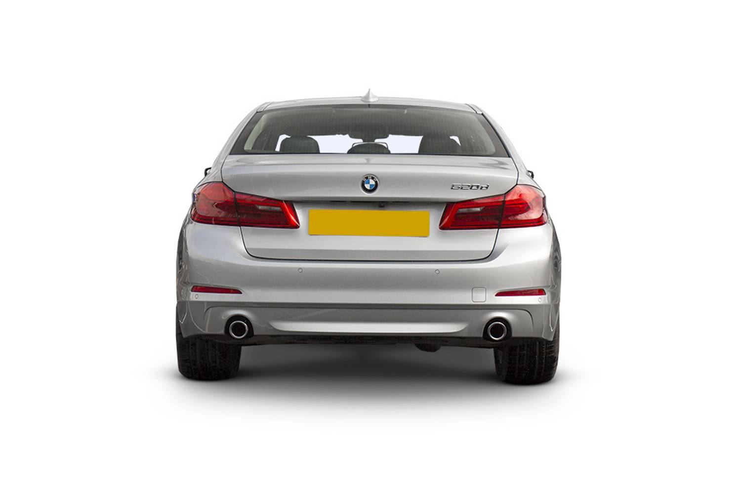 BMW 5 Series Saloon 4dr Rear