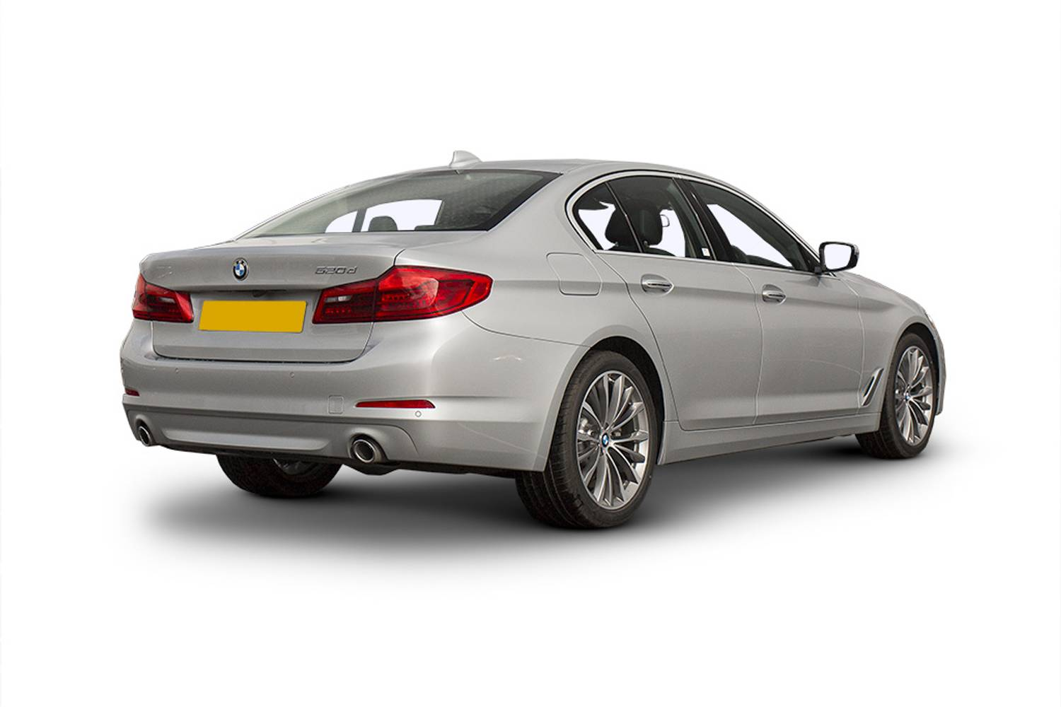 BMW 5 Series Saloon 4dr Rear Three Quarter