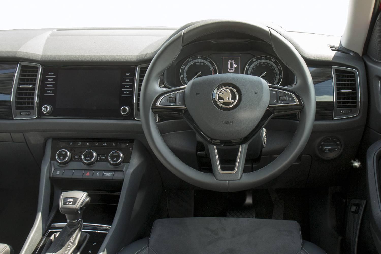 New Skoda Kodiaq Diesel Estate 2 0 Tdi 190 Ps Sport Line 4x4 5 Door Dsg 7 Seats 2017 For Sale