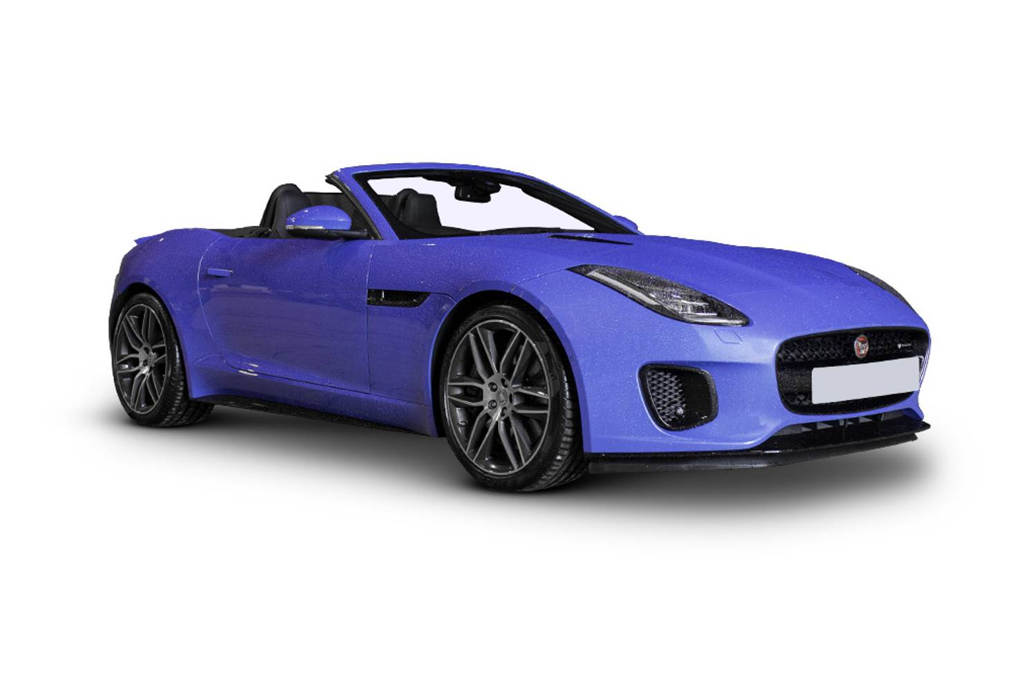Jaguar F TYPE Convertible 2dr Front Three Quarter