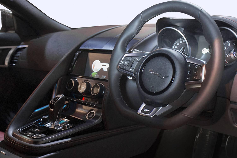 jaguar  type convertible  supercharged   door auto   sale