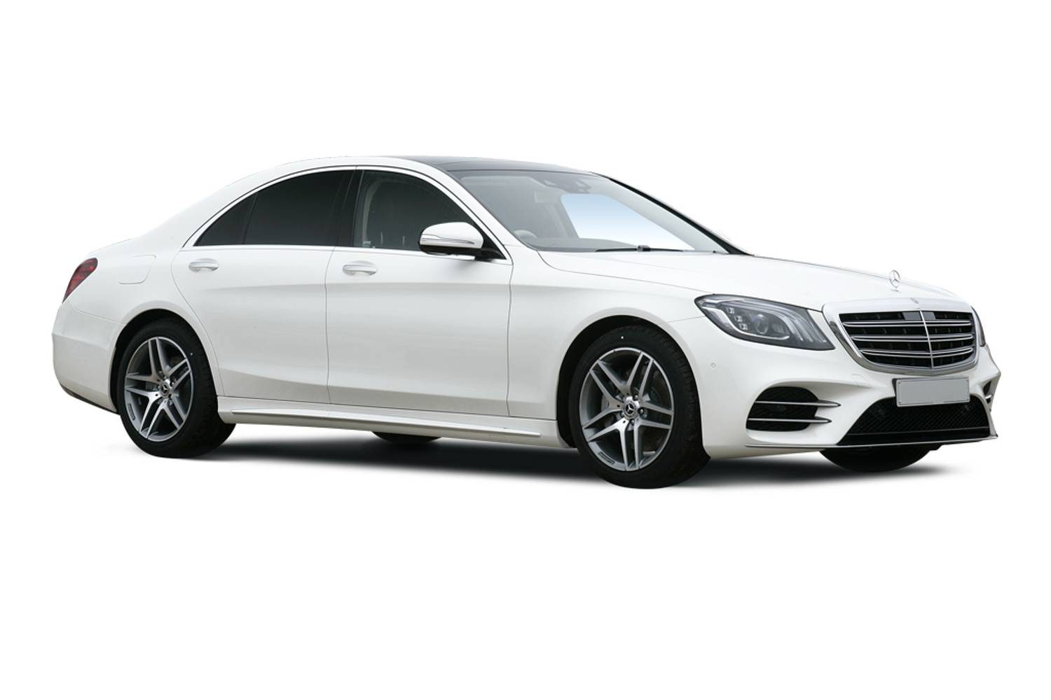 Mercedes-Benz S Class Saloon 4dr Front Three Quarter