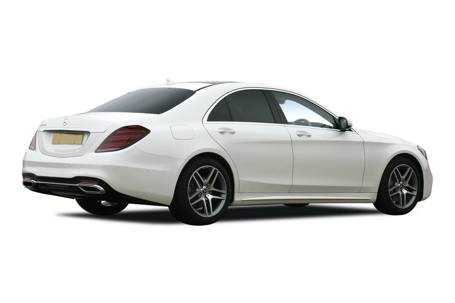 Mercedes-Benz S Class Saloon Rear 4dr Rear Three Quarter