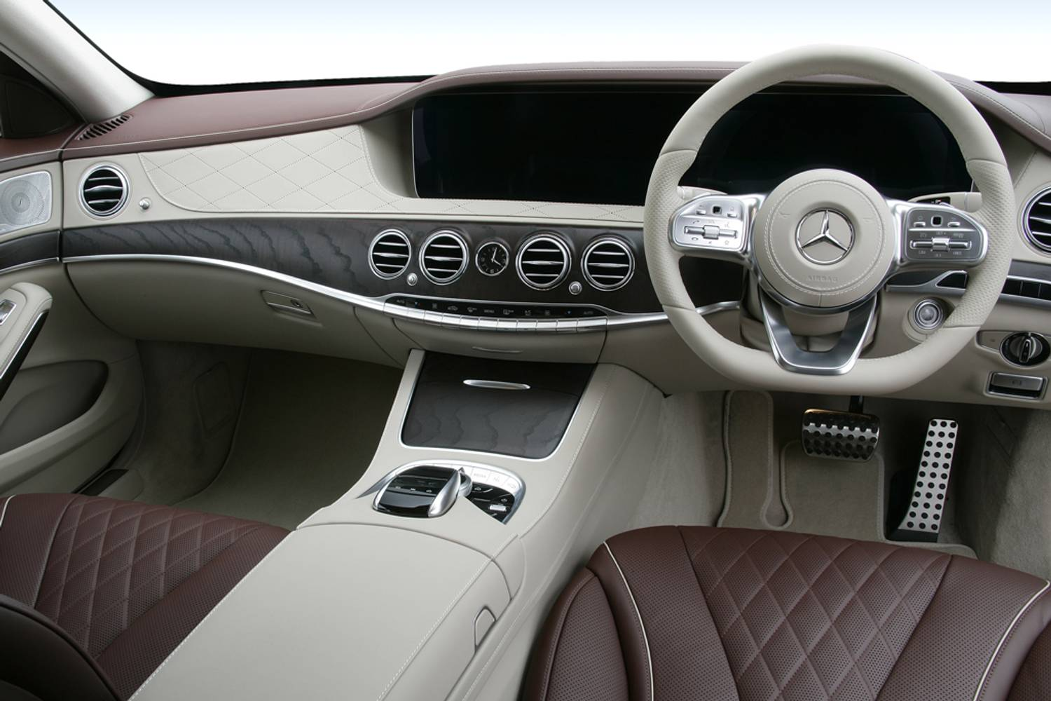 Mercedes-Benz S Class Saloon 4dr interior