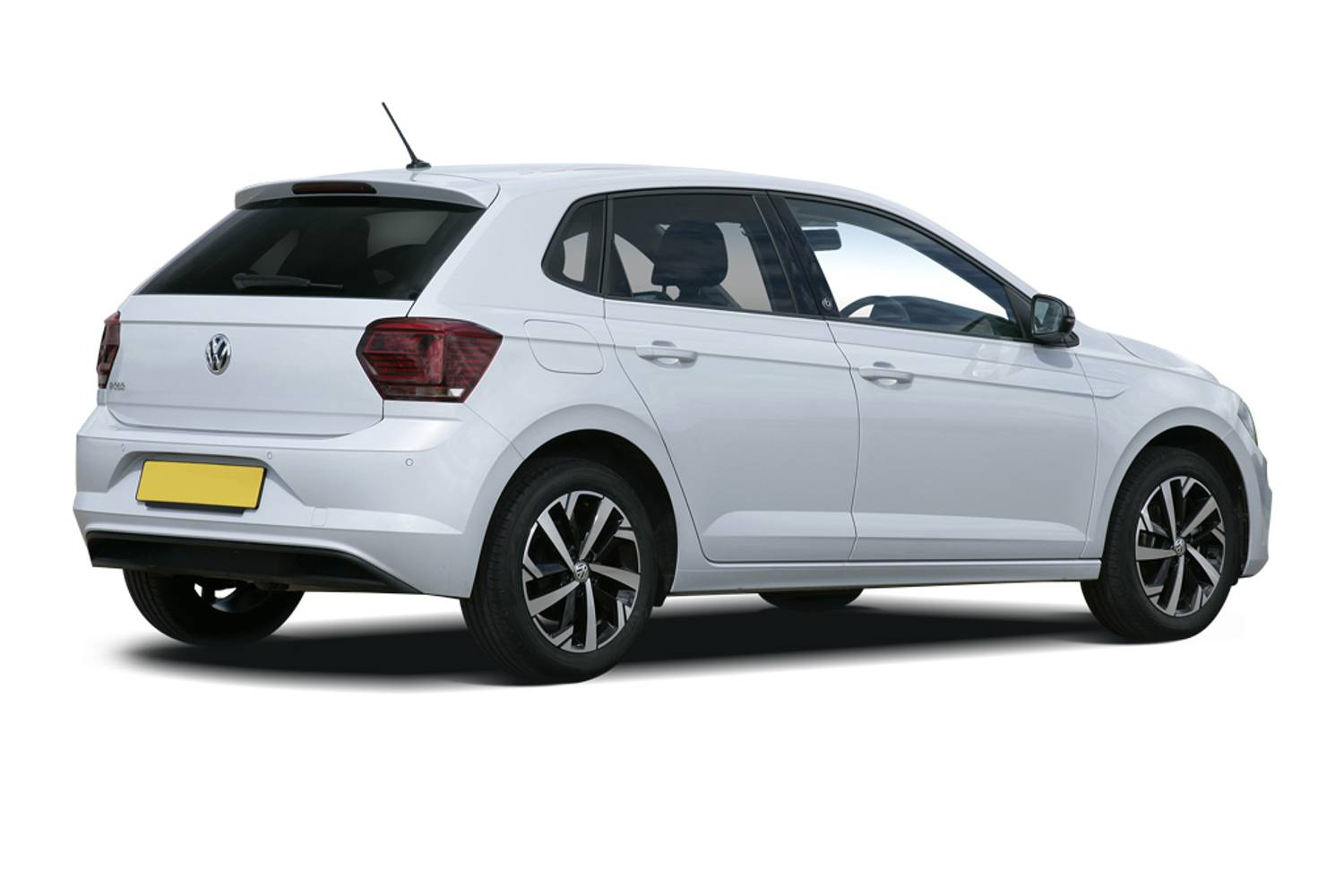 Volkswagen Polo Hatchback 5dr Rear Three Quarter