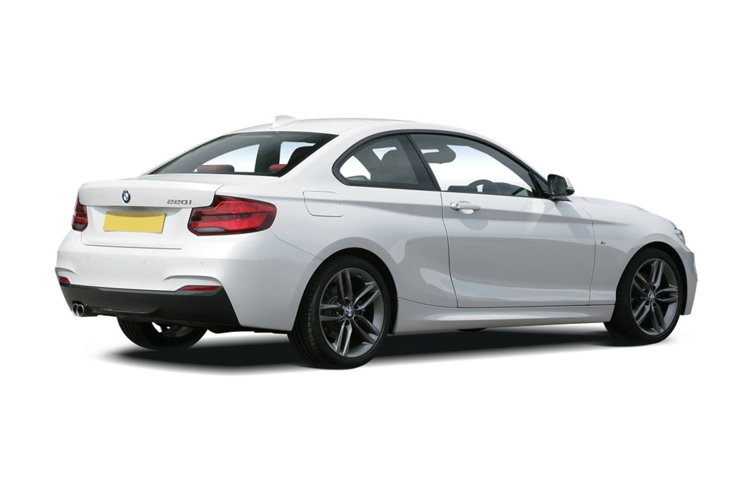 BMW 2 Series Coupe 2dr [Nav] Rear Three Quarter