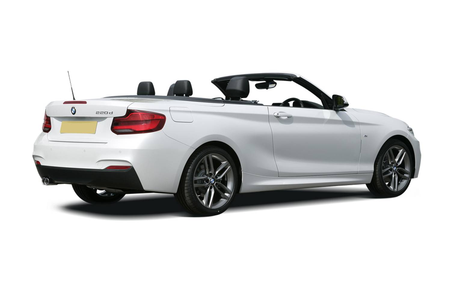 BMW 2 Series Convertible 2dr [Nav] Rear Three Quarter