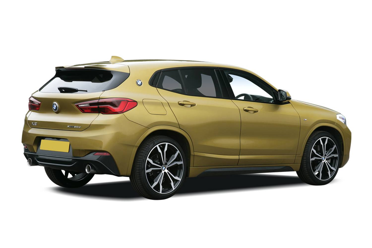 BMW X2 Hatchback 5dr Rear Three Quarter