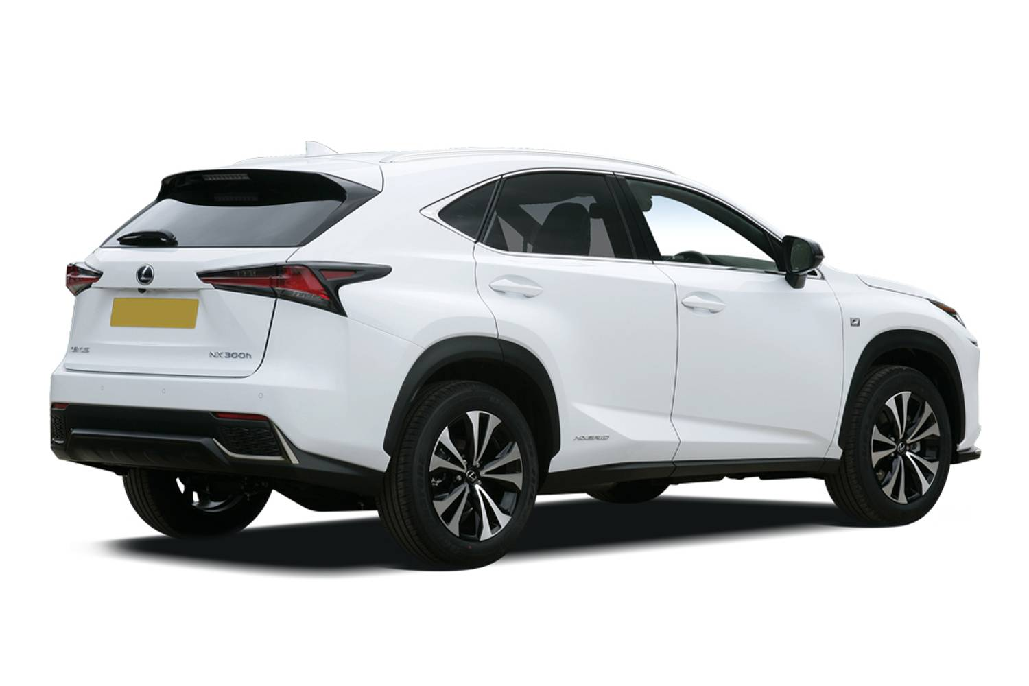 Lexus NX Estate 300h 2.5 5dr CVT Rear Three Quarter