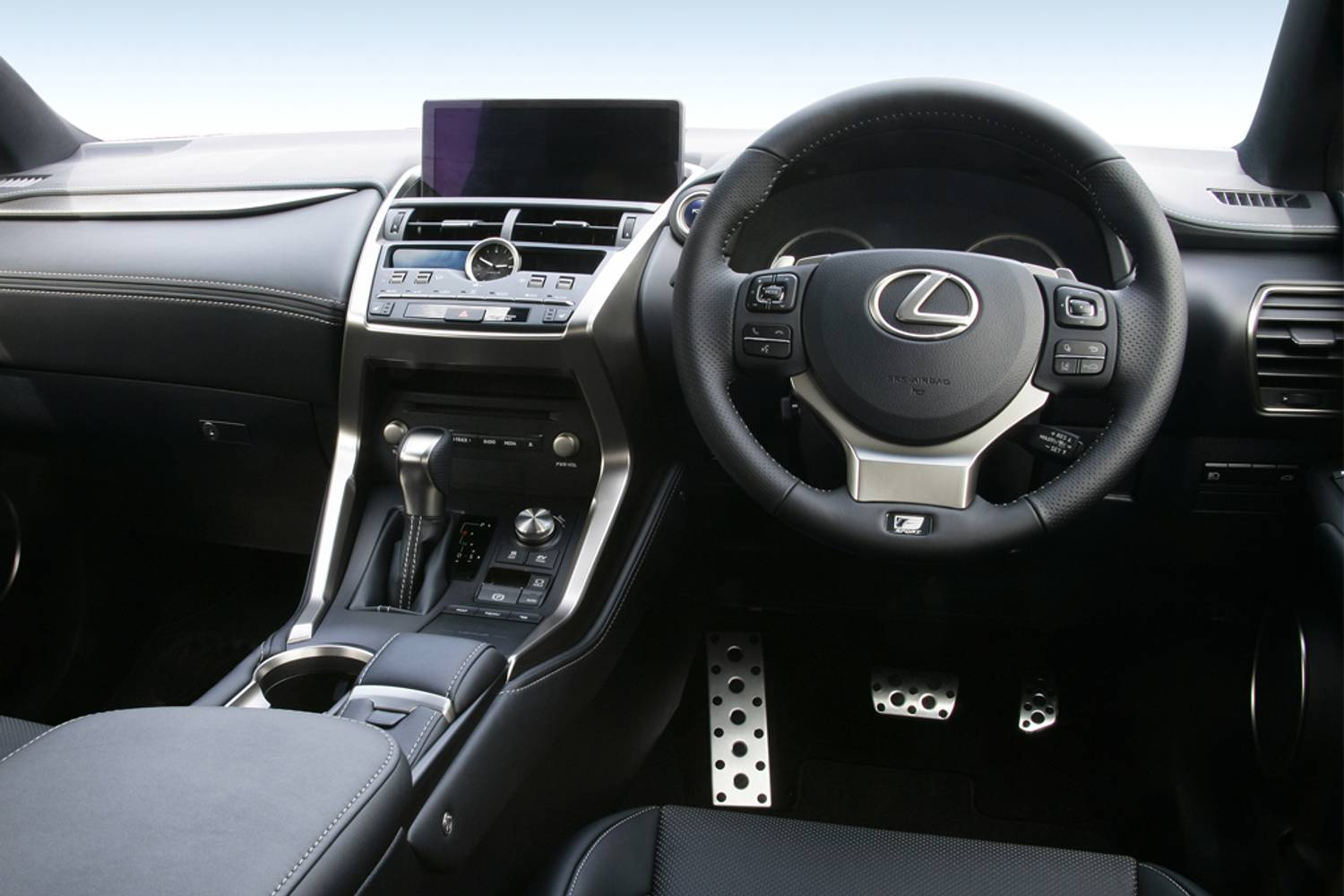 Lexus NX Estate 300h 2.5 5dr CVT interior