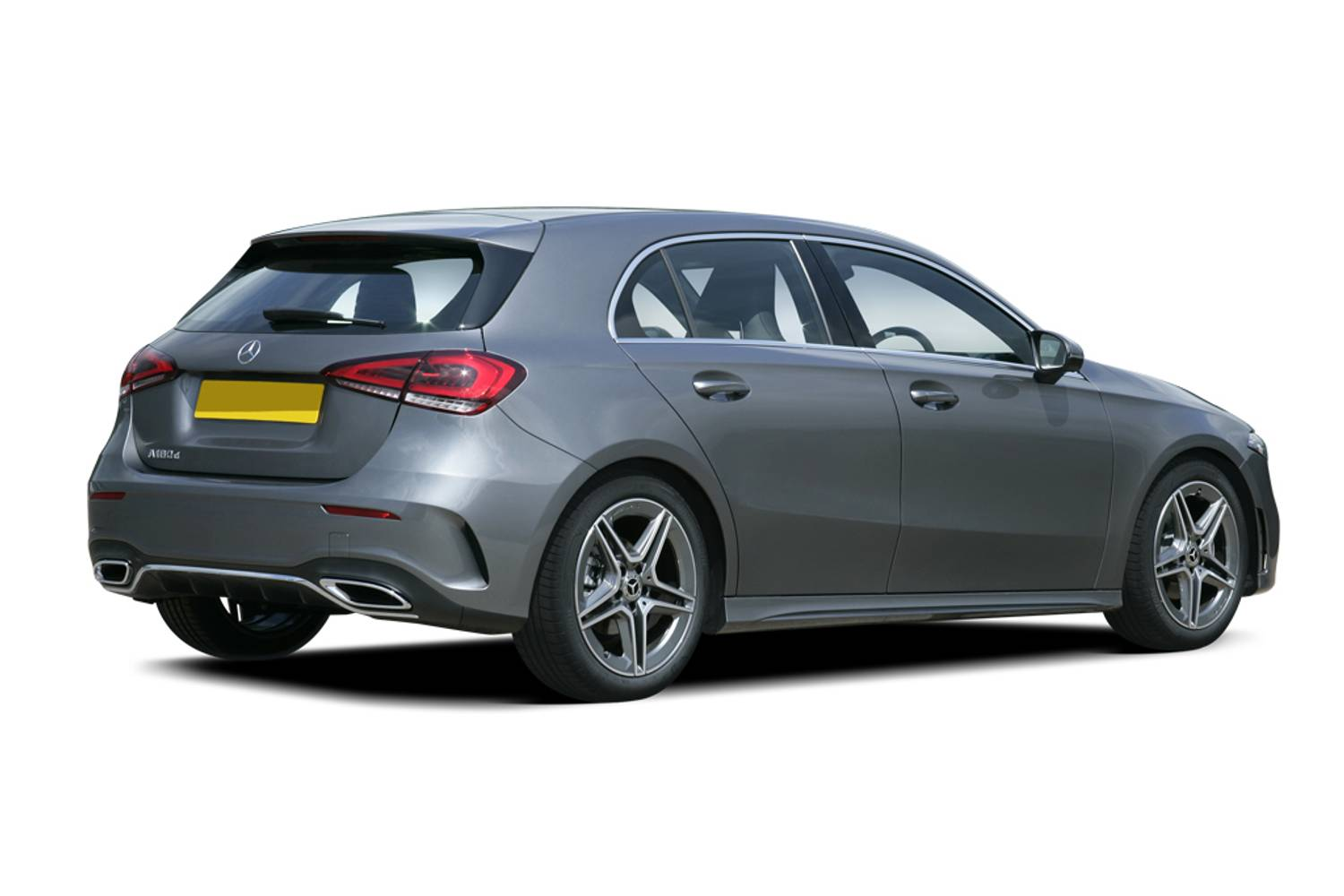Mercedes-Benz A Class Hatchback 5dr Rear Three Quarter