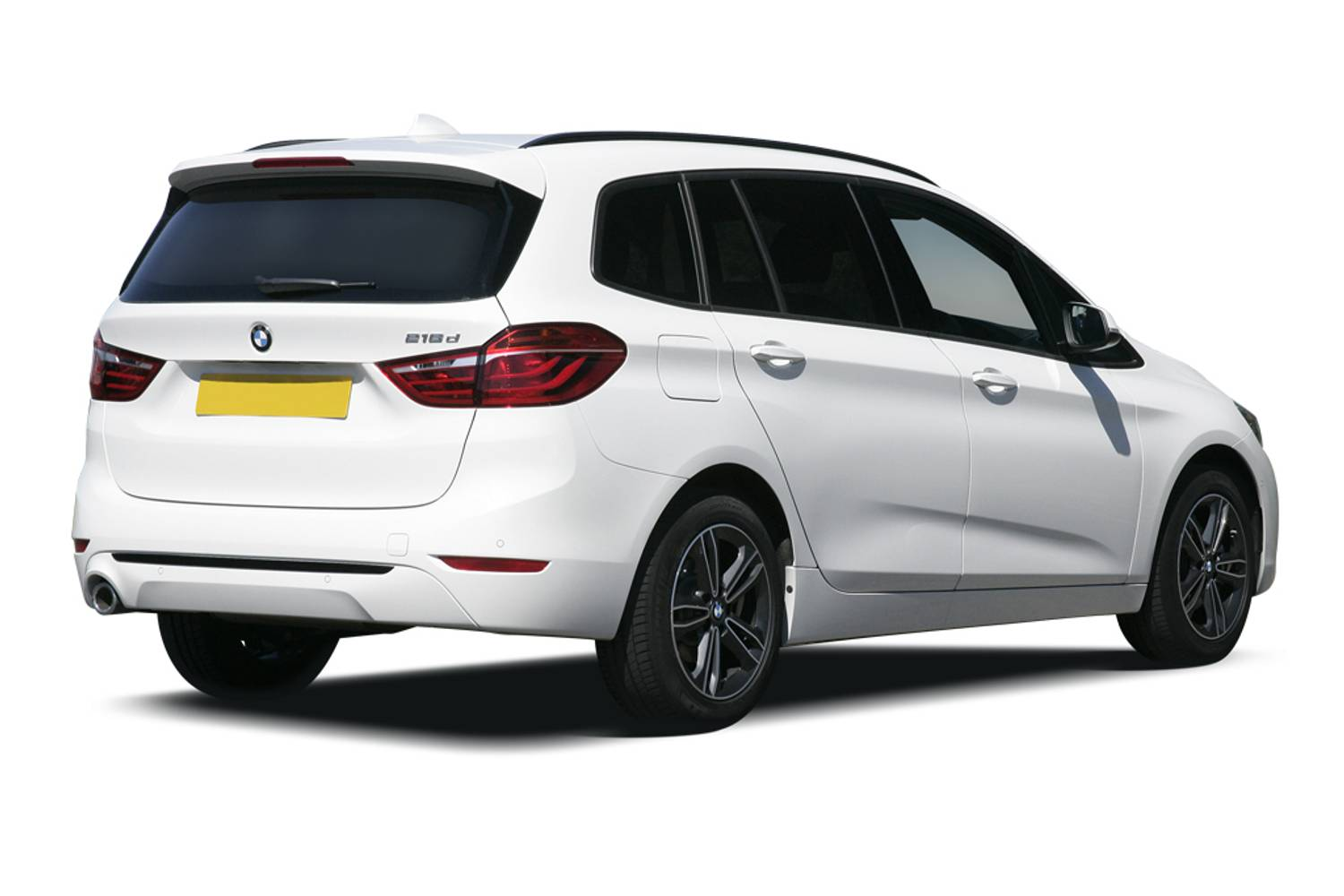BMW 2 Series Gran Tourer 5dr Rear Three Quarter