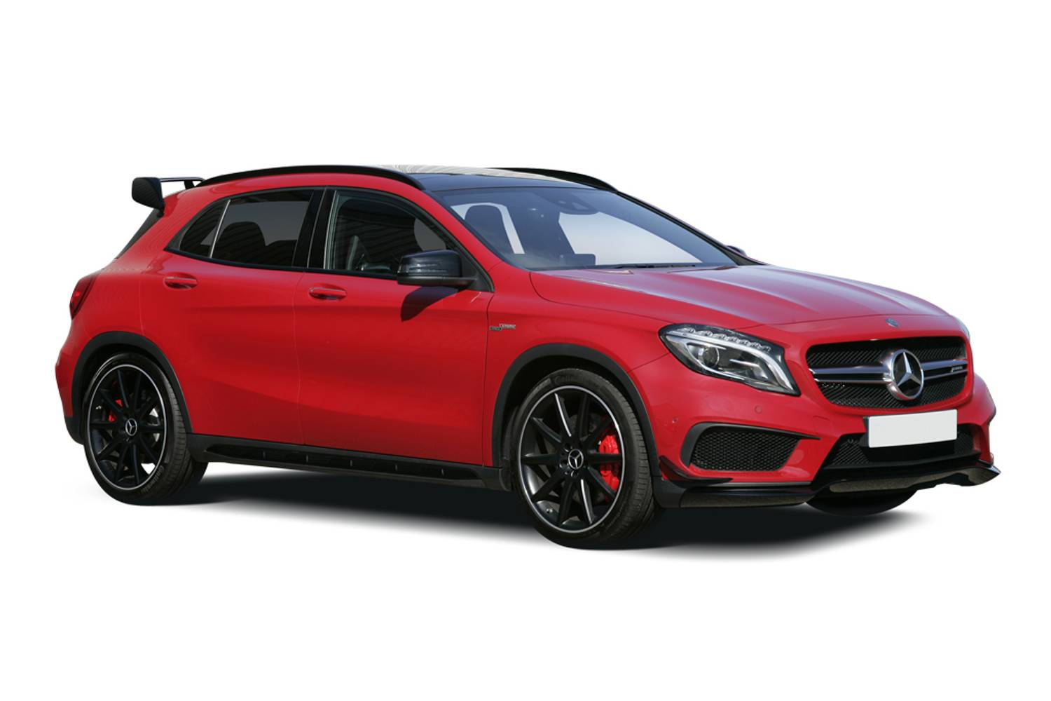 new mercedes benz gla class amg hatchback special edition gla 45 4matic yellow night edition 5. Black Bedroom Furniture Sets. Home Design Ideas