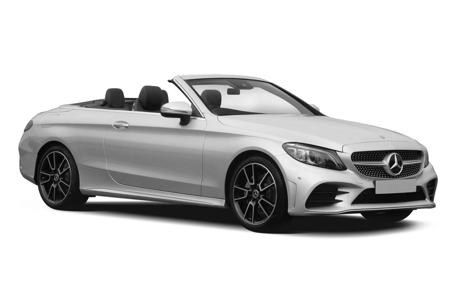 Mercedes-Benz C Class Cabriolet AMG Line 2dr Front Three Quarter
