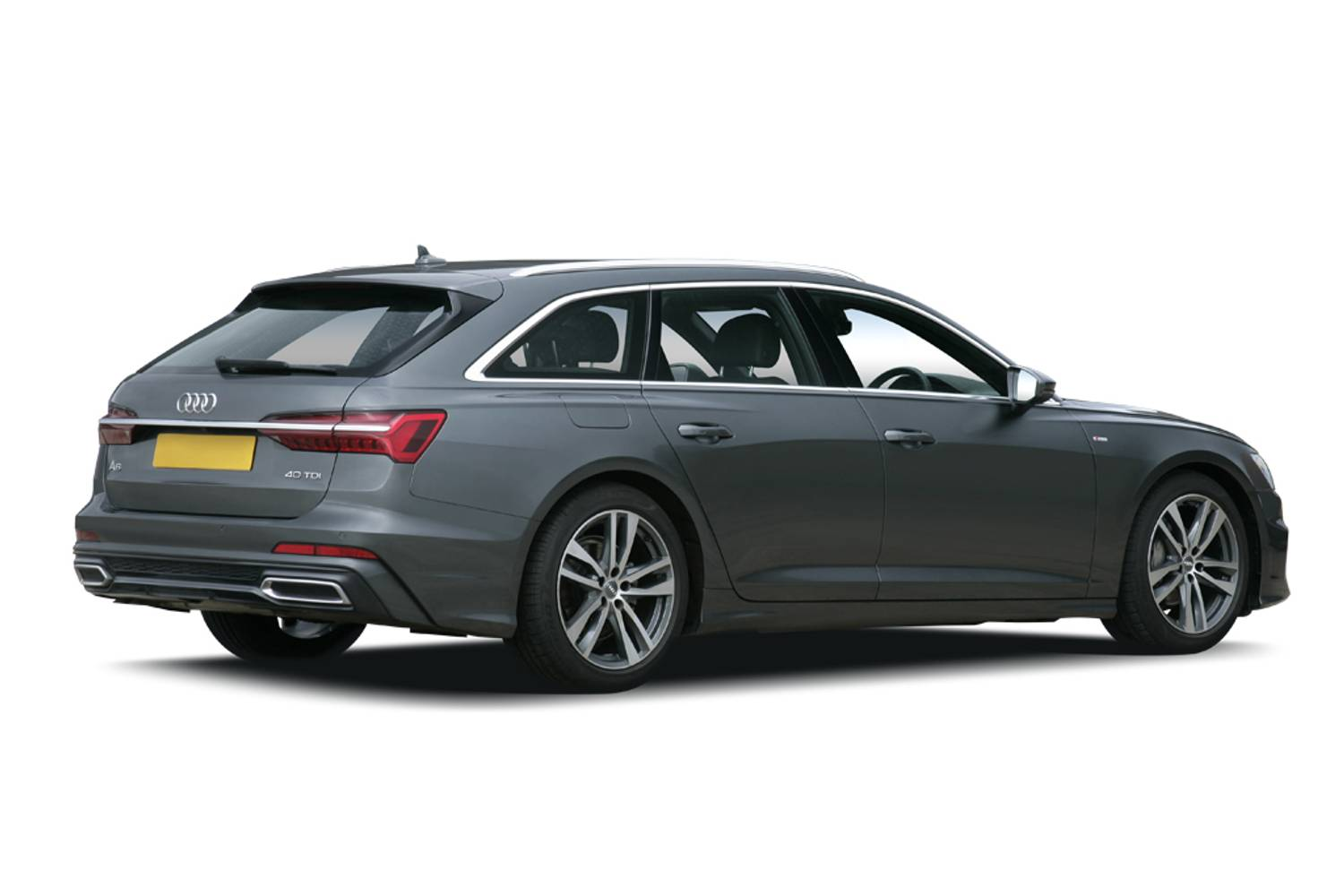 Audi A6 Avant 5dr Rear Three Quarter