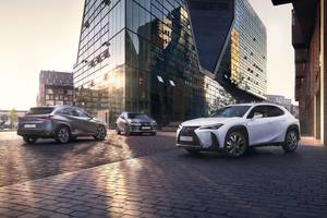 The new Lexus UX range Thumbnail