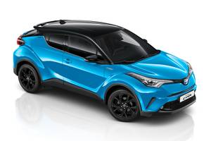 Front exterior shot of the Toyota C-HR Thumbnail