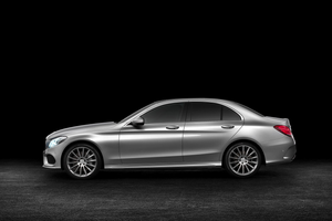 Side shot of C-Class Saloon Thumbnail