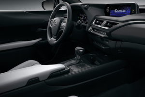 Interior shot of the Lexus UX Thumbnail