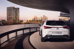 Rear exterior of the Lexus UX Thumbnail