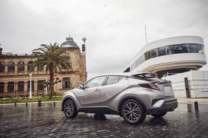 Rear exterior of the Toyota C-HR Thumbnail