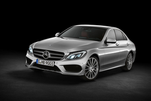 Side angle shot of C-Class Saloon Thumbnail