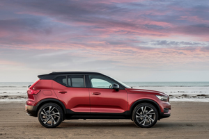 Side profile of the Volvo XC40 Thumbnail