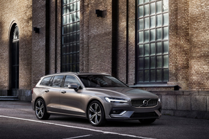 Front exterior shot of the Volvo V60 Thumbnail