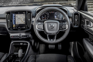 Interior shot of the Volvo XC40 Thumbnail