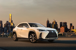Front exterior shot of the Lexus UX Thumbnail