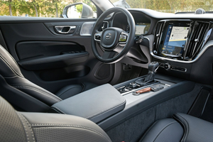 Interior of the Volvo V60 Thumbnail