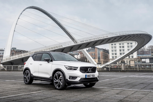 Front exterior shot of the Volvo XC40 Thumbnail