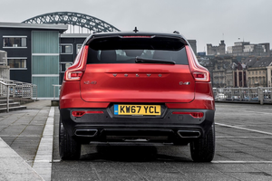 Rear exterior of the Volvo XC40 Thumbnail