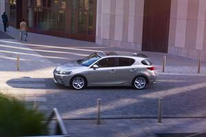 Side shot of the Lexus CT Hybrid Thumbnail