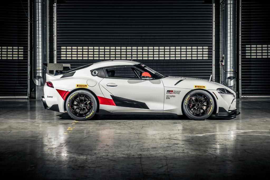 The New GR Supra GT4 Competition Car