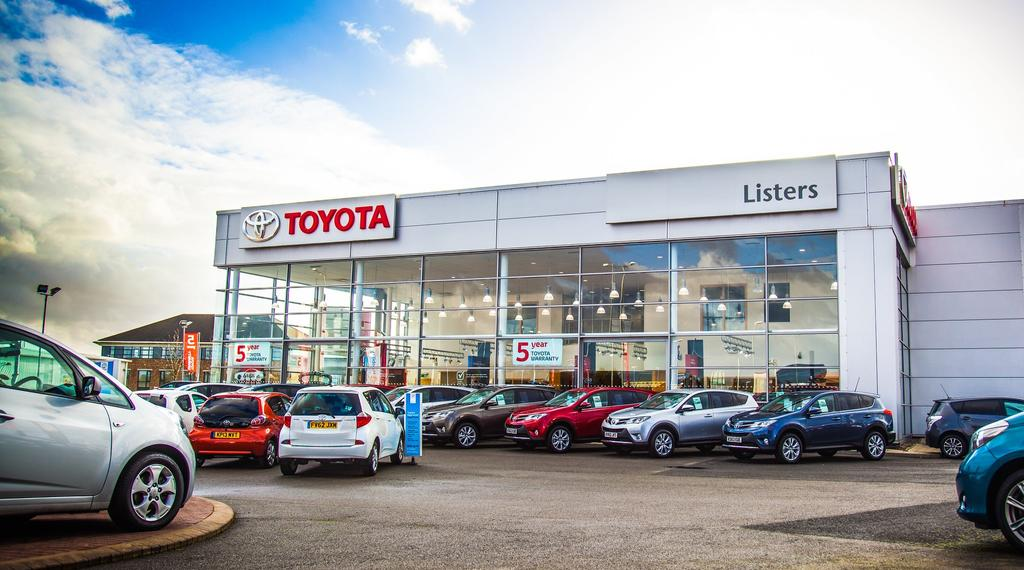 Listers Toyota