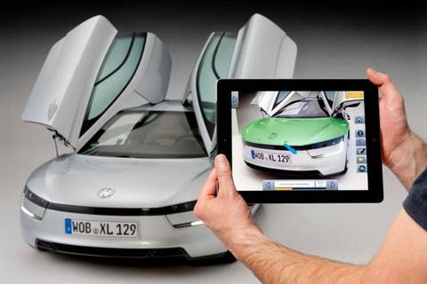 Volkswagen XL1 Augmented Reality Service App