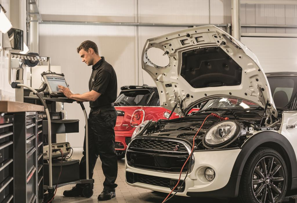 MINI Pay Monthly Servicing