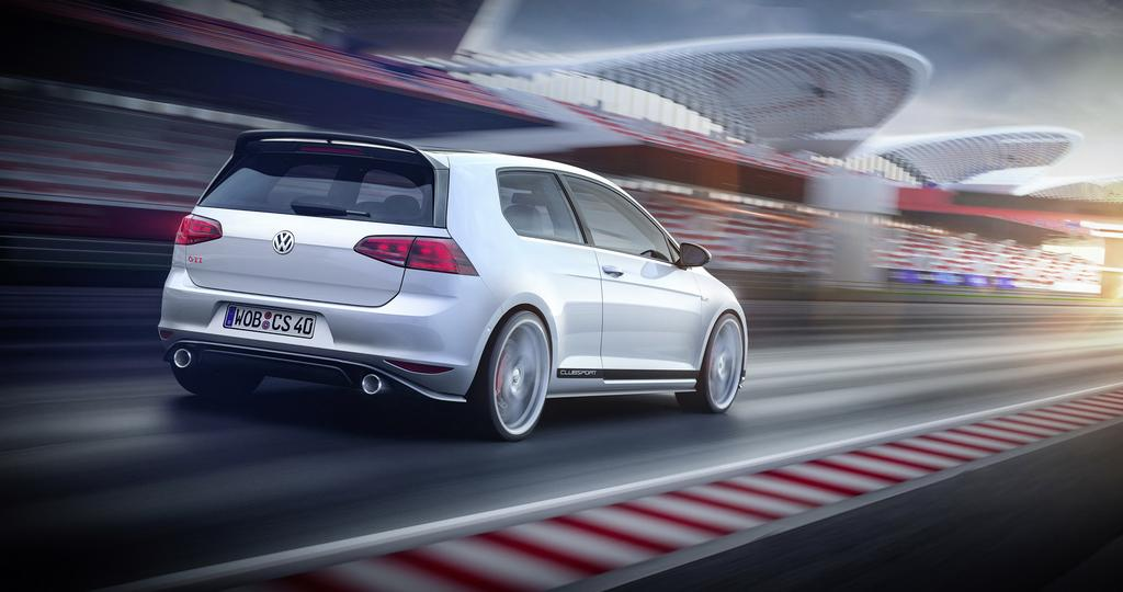 Volkswagen Golf GTI ClubSport Rear Shot