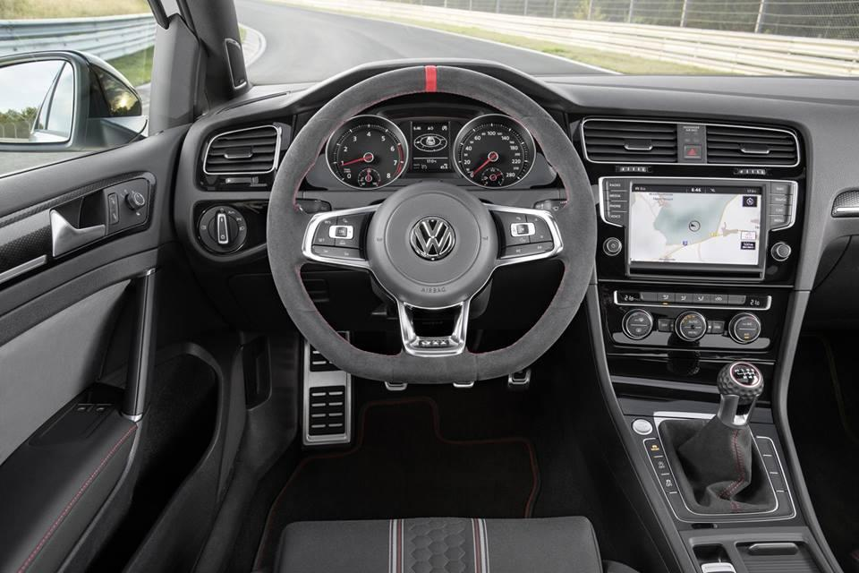 Golf GTI Clubsport Interior