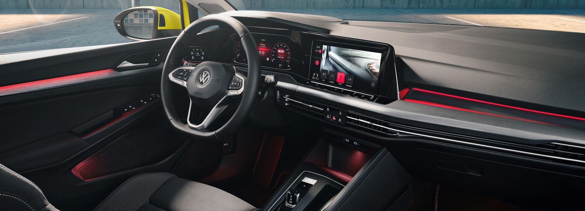 New Golf 8 Interior