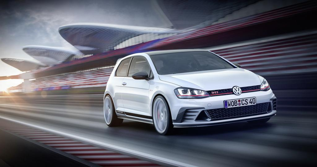 Volkswagen Golf GTI ClubSport Front Shot