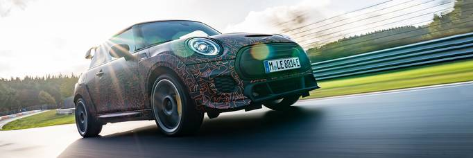 MINI develops electric John Cooper Works concepts.