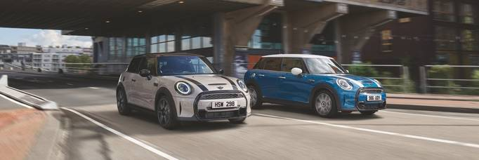 Fresh design and technology updates for MINI models.