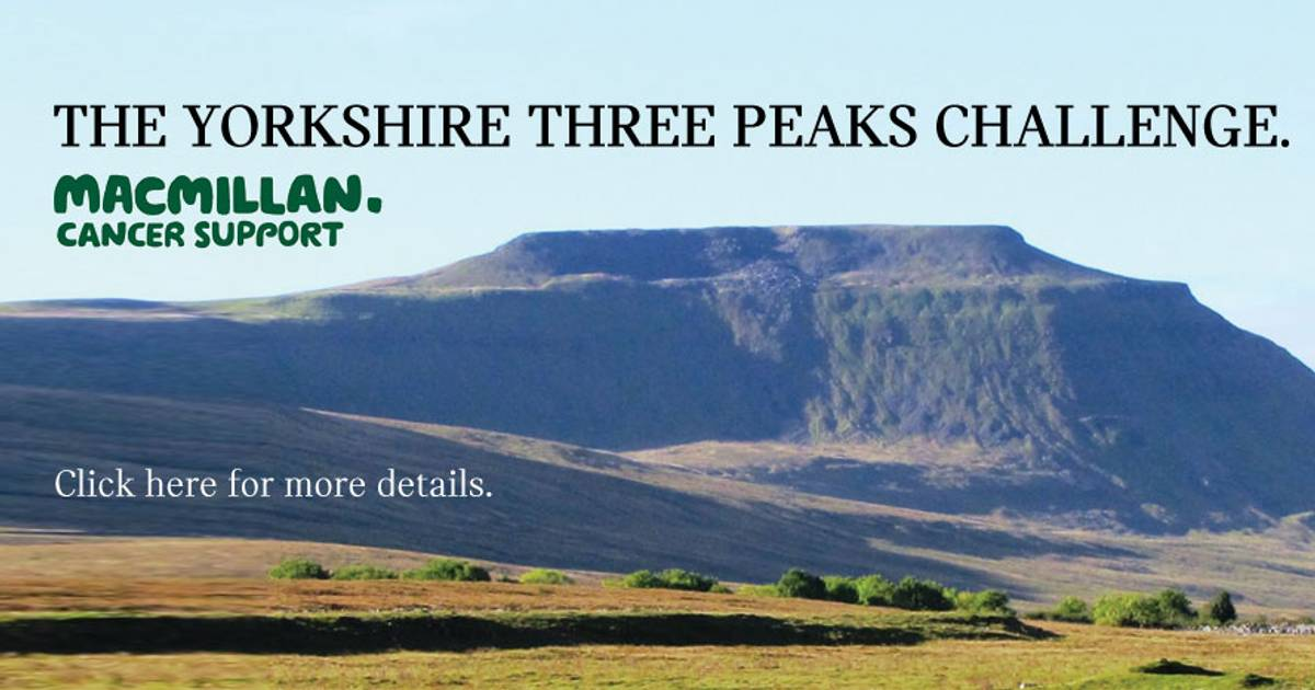 Listers Boston Yorkshire 3 Peaks Challenge